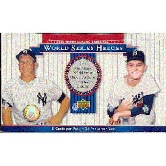 2002 Upper Deck World Series Heroes Baseball Hobby Box