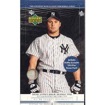 2002 Upper Deck Series 2 Baseball Hobby Box
