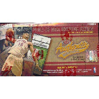 2002/03 Fleer Authentix Basketball Hobby Box