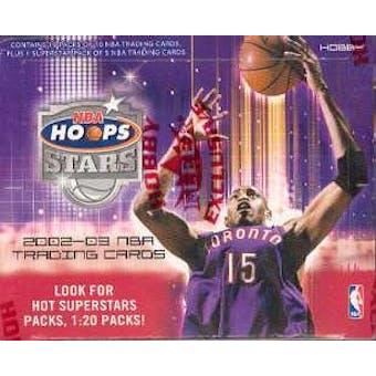 2002/03 Fleer Hoops Stars Basketball Hobby Box