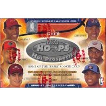 2002/03 Fleer Hoops Hot Prospects Basketball Hobby Box