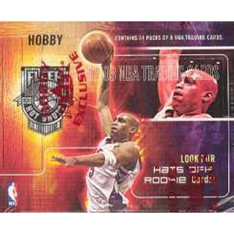 2002/03 Fleer Hot Shots Basketball Hobby Box