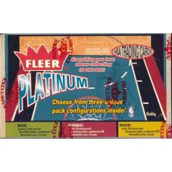 2002/03 Fleer Platinum Basketball Hobby Box