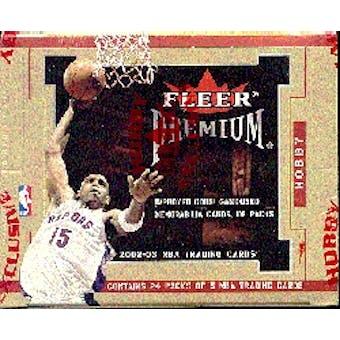 2002/03 Fleer Premium Basketball Hobby Box