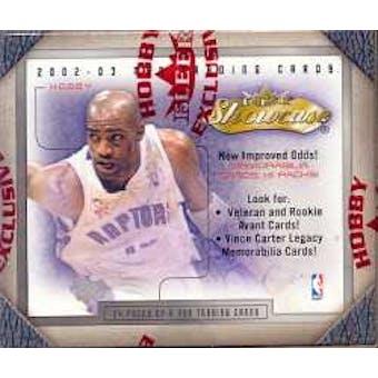 2002/03 Fleer Showcase Basketball Hobby Box