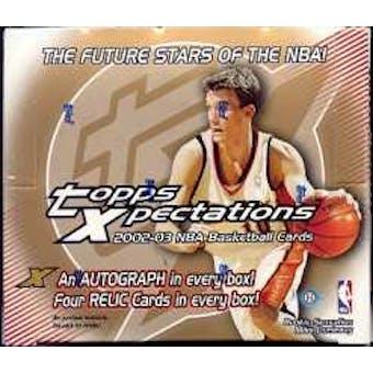 2002/03 Topps Xpectations Basketball Hobby Box