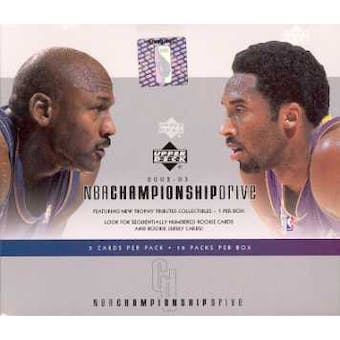 2002/03 Upper Deck Championship Drive Basketball Hobby Box
