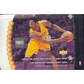 2002/03 Upper Deck Generations Basketball Hobby Box