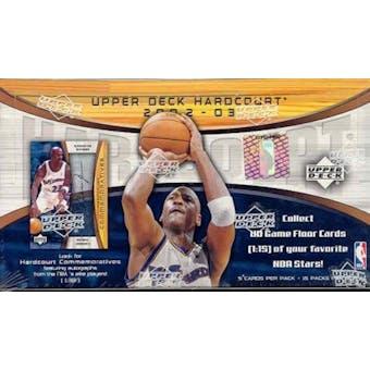 2002/03 Upper Deck Hardcourt Basketball Hobby Box