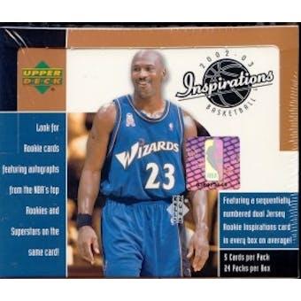 2002/03 Upper Deck Inspirations Basketball Hobby Box