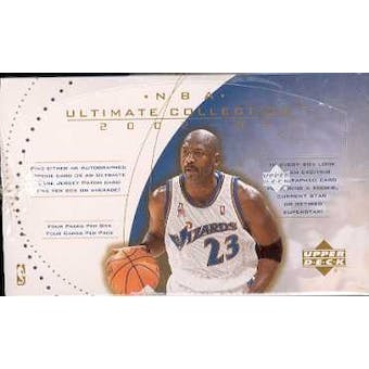 2002/03 Upper Deck Ultimate Collection Basketball Hobby Box