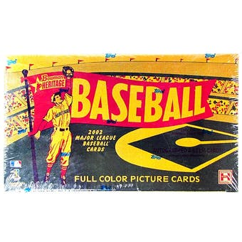 2002 Bowman Heritage Baseball Hobby Box