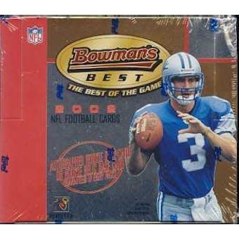 2002 Bowman Best Football Hobby Box