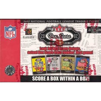 2002 Fleer Box Score Football Hobby Box