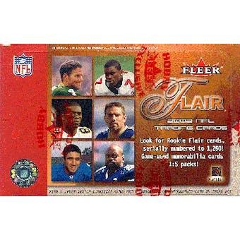2002 Fleer Flair Football Hobby Box