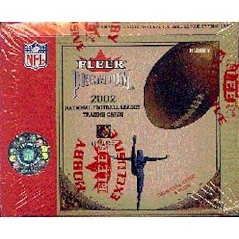 2002 Fleer Premium Football Hobby Box