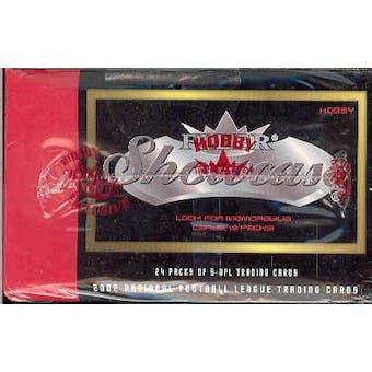 2002 Fleer Showcase Football Hobby Box