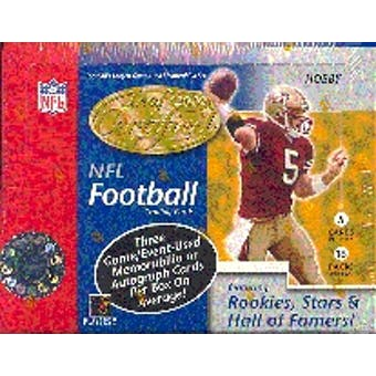 2002 Leaf Certified Materials Football Hobby Box