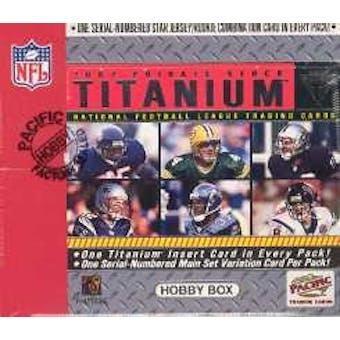 2002 Pacific Private Stock Titanium Football Hobby Box
