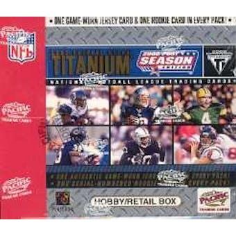 2002 Pacific Private Stock Titanium Postseason Edition Football Hobby Box