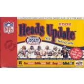 2002 Pacific Heads Update Football Hobby Box