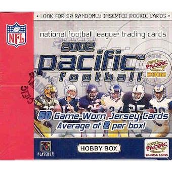 2002 Pacific Football Hobby Box