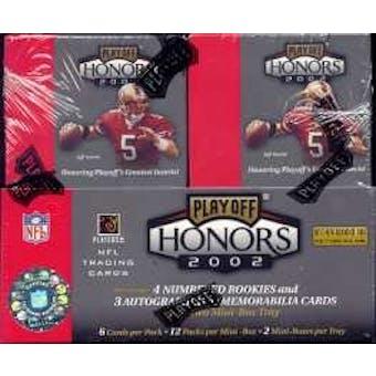 2002 Playoff Honors Football Hobby Box