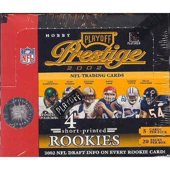 2002 Playoff Prestige Football Hobby Box