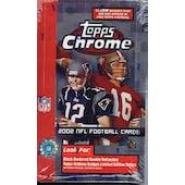 2002 Topps Chrome Football Hobby Box