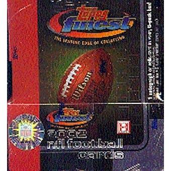 2002 Topps Finest Football Hobby Box