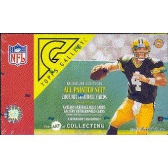 2002 Topps Gallery Football Hobby Box