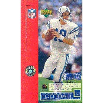 2002 Upper Deck Football Hobby Box