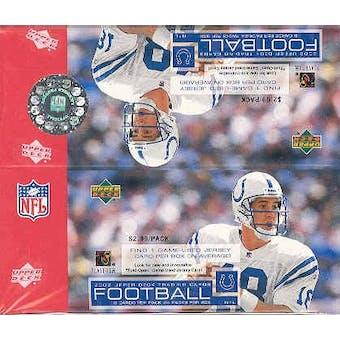 2002 Upper Deck Football 24 Pack Box