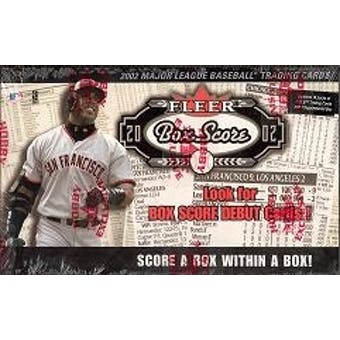 2002 Fleer Box Score Baseball Hobby Box