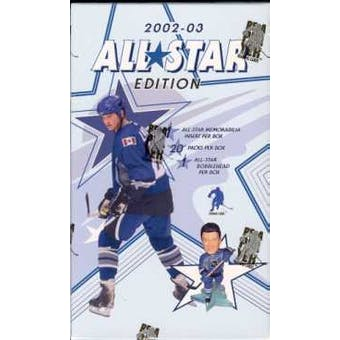2002/03 Be A Player All-Star Edition Hockey Hobby Box