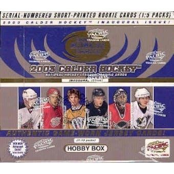 2002/03 Pacific Calder Hockey Hobby Box