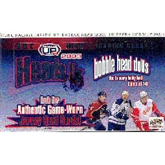 2002/03 Pacific Heads Up Hockey Hobby Box