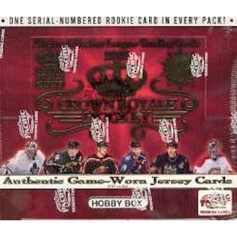 2002/03 Pacific Crown Royale Hockey Hobby Box