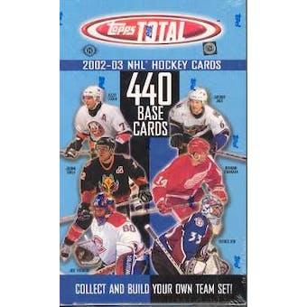 2002/03 Topps Total Hockey Hobby Box