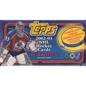 2002/03 Topps Hockey Factory Set (box)