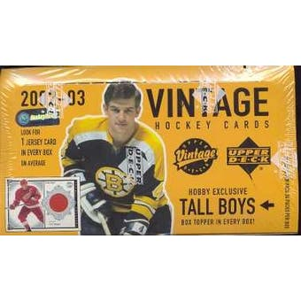 2002/03 Upper Deck Vintage Hockey Hobby Box