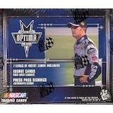 2002 Press Pass Optima Racing Hobby Box