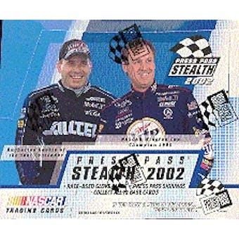 2002 Press Pass Stealth Racing Hobby Box