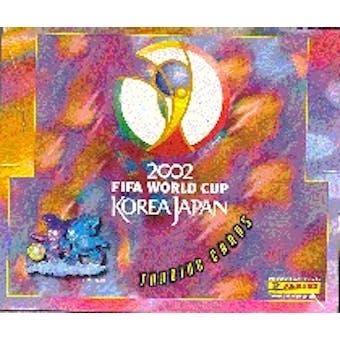 2002 Panini World Cup Soccer Hobby Box