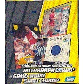 2002 Topps English Premier League Gold Soccer Hobby Box