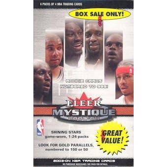 2003/04 Fleer Mystique 6 Pack Basketball Box