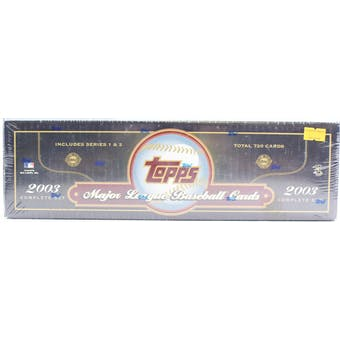 2003 Topps Baseball HTA Factory Set (Box) (Green)