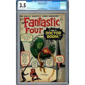 Fantastic Four #5 CGC 3.5 (C-OW) *0302034003*
