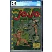 Jo-Jo Comics #7 CGC 3.0 (LT-OW) *0303140016*