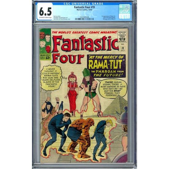 Fantastic Four #19 CGC 6.5 (OW-W) *0303585008*